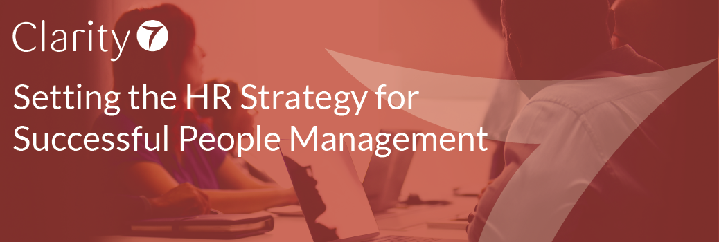 Setting the HR Strategy for Successful People Management